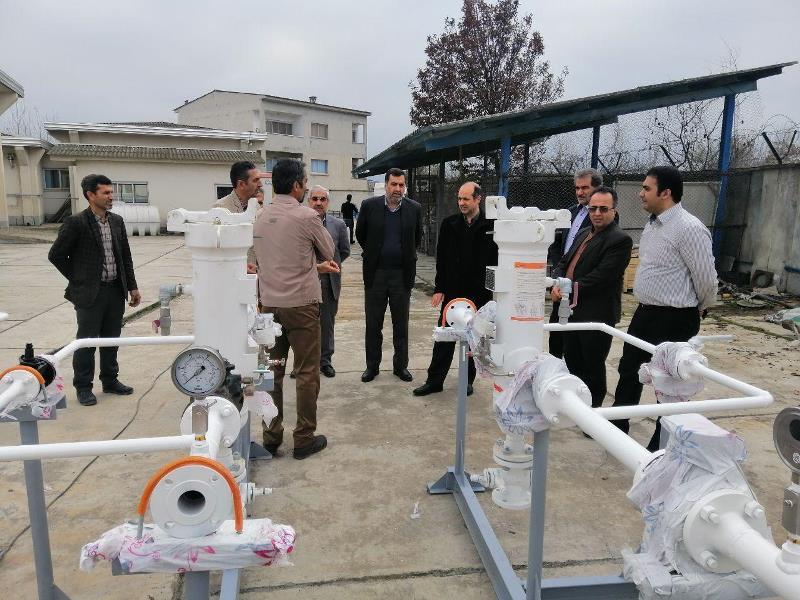 ساخت ایستگاههای تقلیل فشارواندازه گیری گاز
