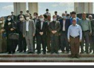 ادای احترام اهالی فرهنگ و ادب گلستانی به شاعر ادب و هنر ترکمن