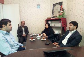 دیدارمدیرکل راهداری گلستان با مدیر مسوول بازار کسب و کار