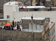 این روزهای پشت بام خانه های تهران