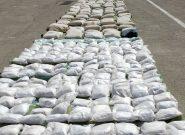 کشف بیشاز ۲ تن موادمخدر در سراوان