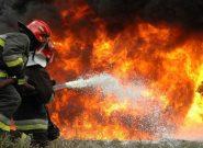 تصادف تانکرهای سوخت در محور بندرعباس به خمیر بدون تلفات جانی