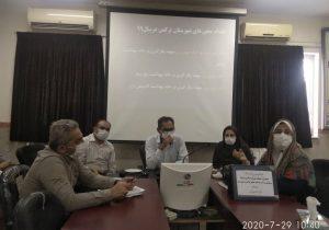 جلسه جذب وپذیرش بهورز درمرکز بهداشت  ترکمن برگزارشد