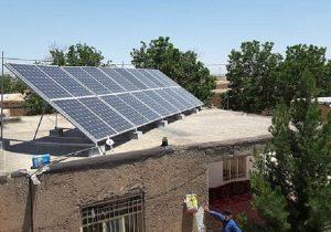 نیروگاه های کوچک خورشیدی ایجادمی شود