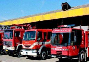 فعالیت ۴۲ ایستگاه آتشنشانی در شهرهای استان بوشهر