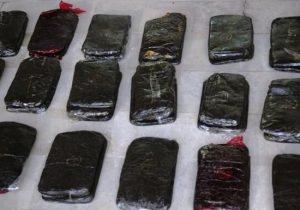 کشف ۲۴۴ کیلوگرم مواد مخدر در یزد