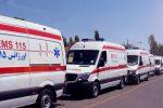 واژگونی مینیبوس درون شهری در مشهد