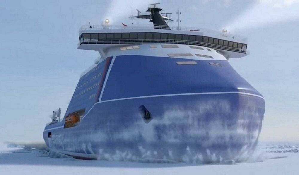 آغازبهرهبرداری ازقویترین کشتی یخشکن اتمی