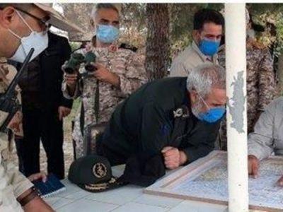 بازدید فرمانده نیروی زمینی سپاه از مرز اصلاندوز
