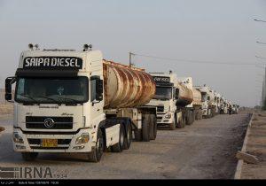 بلاتکلیفی کامیونهای سوخت مربوط به مشکلات داخلی عراق