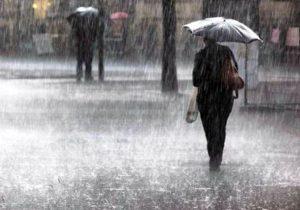 باران شدید درانتظاربرخی مناطق کشور