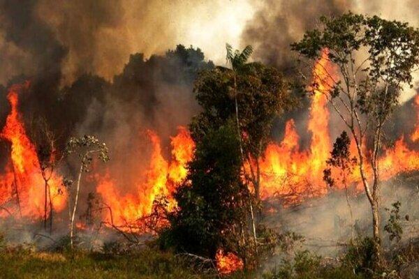 توسکستان در آتش