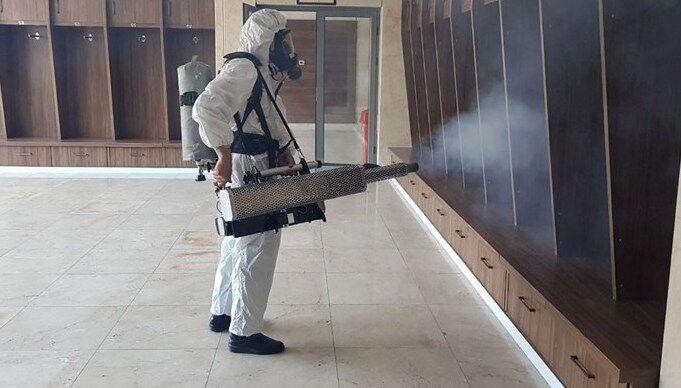 ساخت دستگاه ضدعفونیکننده سطوح آلوده به کرونا