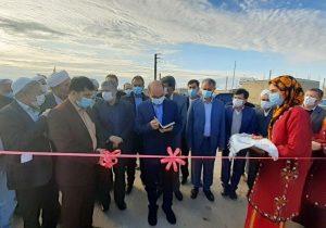 افتتاح مرحله دوم طرح هادی روستای مرزی کرند