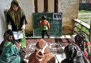 حضورقطارسوادآموزی در مناطق مرزی