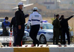 جریمه۲هزارراننده توسط پلیس