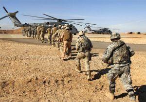 کاهش شدیدنیروهای نظامی آمریکادرخاورمیانه