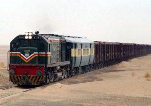 خروج قطار باری پاکستان در زاهدان از ریل