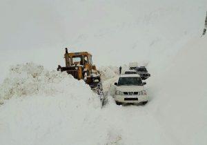 قدرت نمایی امدادگران درسرمای خراسان شمالی
