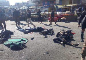 جزئیات عملیات های انتحاری امروزبغداد