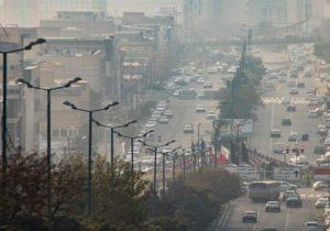 بجنوردتاپایان هفته کیفیت هوای ناسالم دارد
