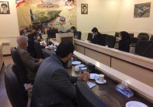 جلسه ساماندهی ونظارت برواحدهای صنفی عطاری برگزارشد