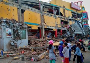 افزایش شمارقربانیان زلزله اندونزی به۷۳تن