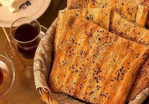 تردوخوشمزه نان بربری خانگی