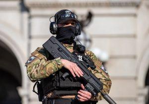 نیروهای امنیتی آمریکابرای مقابله باخشونت به حالت آمادهباش درآمدند