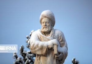 ریزش برف همدان را فرا میگیرد