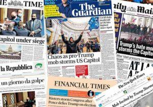 رسانههای بینالمللی شورش هواداران ترامپ رامحکوم کردن
