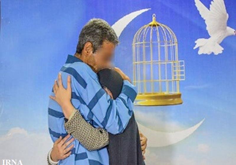 آزادی۱۵زندانی درآستانه سال نو