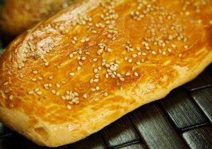 نحوه تهیه نان شیرمال در خانه
