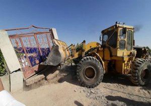 توقف عملیاتتخریبحریم قلعهتاریخیاوجان بستانآباد