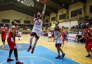 راه یابی بسکتبال گرگان به نیمهنهایی دسته اول کشور