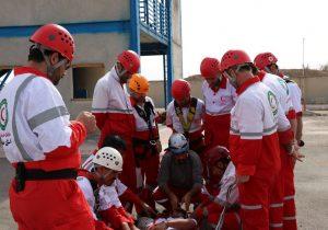 افتتاح خانههلال روستای سلاقیلقی