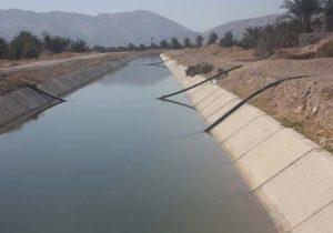 رهاسازی آب سد سلمان در دشتهای شهرستان خنج فارس