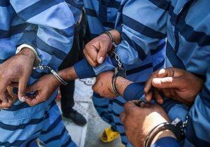پرونده سیاه سارقان سابقه داربا۱۶فقره سرقت داخل خودرو