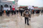 جشن پیروزی انقلاب اسلامی توسط مردم قم