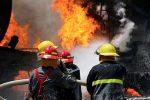 آتشسوزی موجب اختلالدرتردد شد