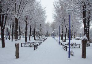 بازگشت برف وباران به خراسان شمالی