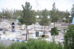 ممنوعیت ورود به آرامستانهای بیرجند