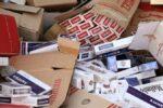 کشف۴۰۰هزارنخ سیگار قاچاق در کرمانشاه