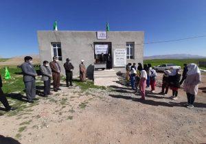 افتتاح مدرسه روستای هلت شهرستان چرداول