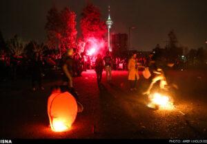 تهران امسال باافزایش۲۰درصدی حوادث چهارشنبه سوری روبروبود