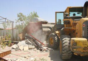 صدور۸ اخطاریه ساخت و ساز غیرمجاز در کهریزک