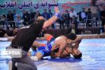 اردوی تیمهای ملی کشتی فرنگی ناشنوایان در کرمانشاه در حال برگزاری