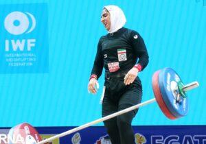 تحقق پله های ترقی زنان وزنهبردار۱۴۰۰سال است
