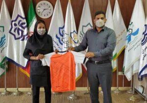 شرکت تیم فوتبال بانوان شهرداری بندرعباس در لیگ یک کشور