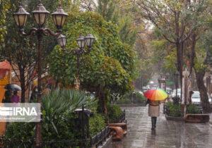 پیشبینی بارش پراکنده باران در استان تهران